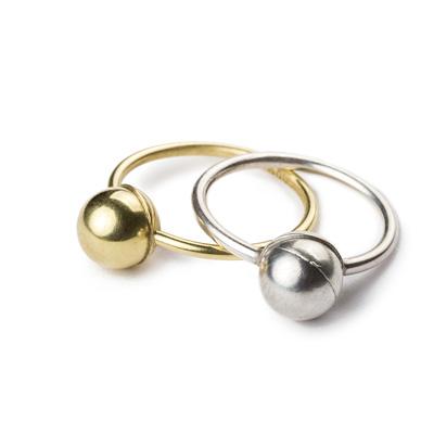 Ringe ohne Zucht-Perlen title=