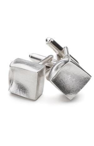 Silberne Manschettenknöpfe aus der Serie