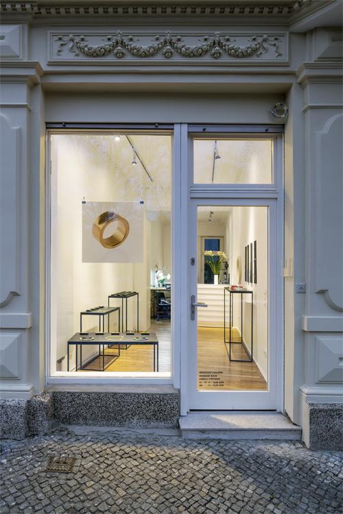Atelier der Goldschmiedin Susanne Sous in der Kreuzbergstrasse gegenüber des Viktoriaparks title=
