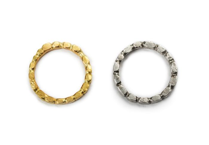 Glänzende Ringe ohne Brillanten von S. Sous aus Berlin title=